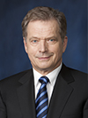 Sauli Niinistö, the President of the Republic